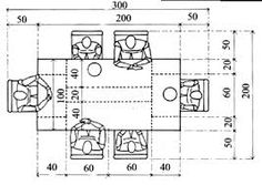 Resultado de imagen para medidas de espacios arquitectonicos