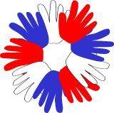Handprint Wreath craft preschool kindergarten homeschool