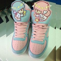 Harajuku fashion kawaii cartoon sneakers