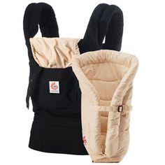 776da2f21c5 Ergobaby bæresele og babyindsats Model Original - Sort Kamel Fisher Price