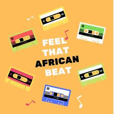 'African Beat' Clock by NzitaMay