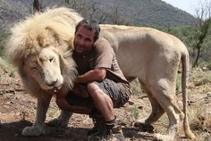 The man who speaks with lions