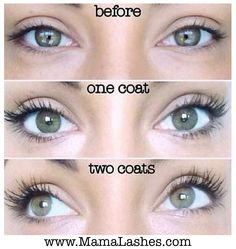 Our awesome 3D Fiber Lashes can even be layered! www.MamaLashes.com