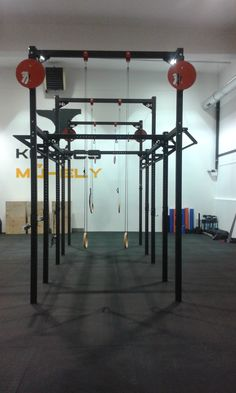 One of our favourite gyms that is also our showroom in Budapest, Hungary. Power Rack, Budapest Hungary, Showroom, Gym, Building, Buildings, Excercise, Fashion Showroom, Construction