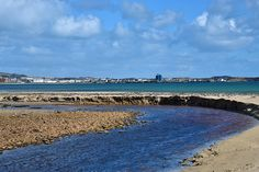 Port Ellen from Kilnaughton beach, Isle of Islay