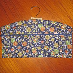 Tama Design Closet Hanger Organizer Quilted Asian Japanese Fabric Deep Blue by JapanesqueAccents on Etsy