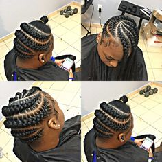 Amazing Hair Braiding Compilation 2019 : Most Pretty Hair Styles. Box Braids Hairstyles For Black Women, Cute Braided Hairstyles, Black Girl Braids, African Braids Hairstyles, Braids For Black Hair, Pretty Hairstyles, Girl Hairstyles, Braids For Kids, Girls Braids