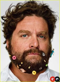 Whenever I need a pick me up, I watch Zach Galifinakis stand up:)