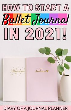 Be organized and productive in 2021 by starting a bullet journal! Read here for the ultimate guide to starting a bullet journal for 2021! #bulletjournal #startingbulletjournal #bulletjournalbeginners #bulletjournalsetup #bujo