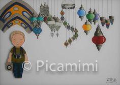 Kapalı Çarşı Covered Bazaar by Picamimi Clock, Istanbul, Wall, Home Decor, Watch, Decoration Home, Interior Design, Clocks, Home Interior Design