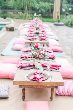 """""""New Ideas For Your Summer Party""""   Camille Catherine Photography   A Charming Affair   PartySlate   June 2017 *Paisley & Jade Vintage & Specialty Furniture Rentals for Events, Weddings, Trade Shows & Photo Shoots*"""