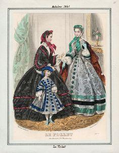 October, 1861 - Le Follet