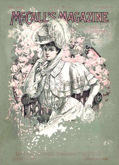 June 1906 fashion illustration for McCall's Magazine cover.