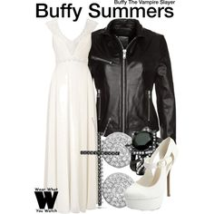 Inspired by Sarah Michelle Gellar as Buffy Summers on Buffy the Vampire Slayer.