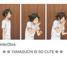Haikyuu yamaguchi