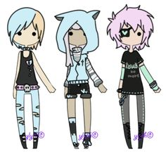 [Pastel Goth][closed] by Ylyth.deviantart.com on @deviantART
