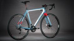 Niner (!) RoadLessTraveled gravel racer, drop bar offroad, or casual cyclocross bike | love the clearance for 45's and the paint
