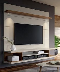 Tv cabinet design, tv unit design, wall unit designs, tv wall d Tv Wanddekor, Modern Tv Wall Units, Modern Tv Room, Modern Living, Minimalist Living, Wall Units For Tv, Tv Cabinet Design Modern, Wall Mounted Tv Unit, Modern Closet