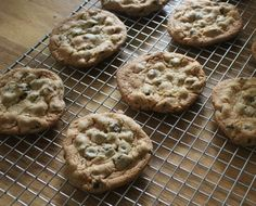 I love these Sourdough Cookies in the fall! They are rich, tangy & sweet! Sourdough Chocolate Chip Cookies also make a great wrap & go gift for the holidays