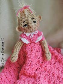 Teri's Blog: New Dolly Huggy Blanket Pattern