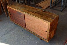 Sliding Door Reclaimed Wood Credenza by BindleStickFurniture, $600.00.