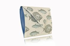 FISHY Clutches, Canvas, Prints, Leather, Beast, Tela, Canvases, Clutch Purse, Hand Bags