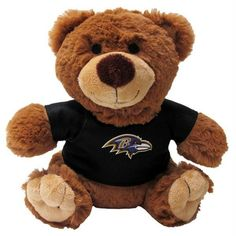 f8976678b Baltimore Ravens Teddy Bear Dog Toy - Pets First