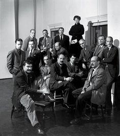 La famoso foto de los 18 irascibles. Por Nina Leen para la revista LIFE…