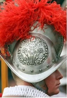 Swiss Guard at the Vatican- Recruits to the guard must be Catholic, single males with Swiss citizenship who have completed basic training with Swiss military and can obtain certificates of good conduct.Recruits must have a professional degree or high school diploma, must be between 19 and 30 years of age,and at least 5 feet 8.5 in. tall.