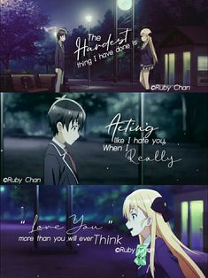 12 Impressive Anime Films That you May Not Know About Sad Anime Quotes, Manga Quotes, Breakup Quotes, True Quotes, Dark Quotes, Depression Quotes, Pokemon, I Love Anime, Kawaii