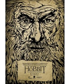 Alternative #Movie #Poster for The Hobbit An Unexpected Journey by Harijs Grundmanis