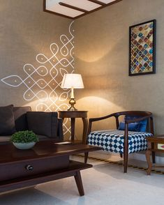 Indian Home Design, Indian Home Interior, Indian Interiors, Indian Bedroom Design, India Home Decor, Ethnic Home Decor, Living Room Decor India, Living Room Designs India, Living Room Murals