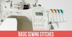 Stitches are an integral part of sewing. Every seamstress should master these eight sewing stitches.