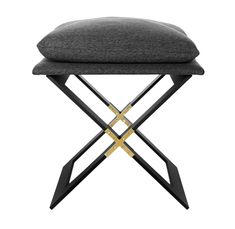 Buy MARX Stool by Gabriel Scott - Quick Ship designer Furniture from Dering Hall's collection of Mid-Century / Modern Transitional Stools, Ottomans & Poufs.
