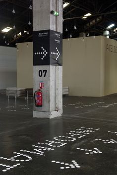 J1 Hall - signage, environmental design (2012) on Behance