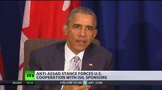 """""""Wir haben die richtige Strategie"""": Barack Obama hält an Anti-Assad-Strategie fest - http://www.statusquo-news.de/wir-haben-die-richtige-strategie-barack-obama-haelt-an-anti-assad-strategie-fest/"""