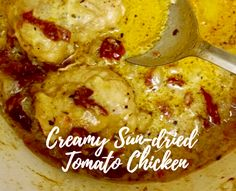 This recipe is a new top five favorite! I actually loved making it and Skinny Inspiration, Grubs, Sun Dried, Main Dishes, Healthy Eating, Wellness, Chicken, Recipes, Food