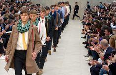 Semana de moda masculina em Londres
