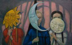 Сюзева Наталья. Солнце, Месяц и Луна.