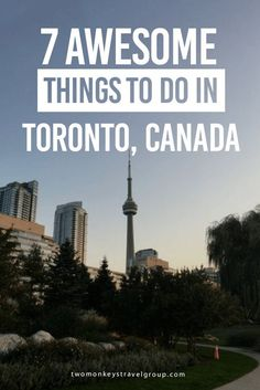7 Unique Things To Do In Toronto, Canada I may be bias but Toronto is one of the best cities in the world. Not only is it one of the most livable cities but there is so much to do for tourists. Between the sports games, museums, nature, and restaurants you won't find it hard to fill up a weekend or even a week in this city.