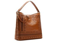 Isabella Fiore On the Border Leather Hobo Bag