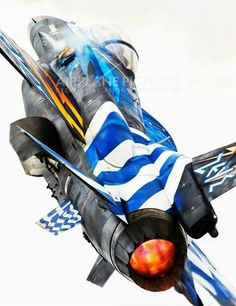 Fighter Pilot, Fighter Aircraft, Fighter Jets, Hellenic Air Force, Aircraft Images, F 16 Falcon, Airplane Fighter, Picture Icon, Aircraft Painting