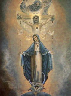 our lady of grace Catholic Pictures, Jesus Pictures, Jesus Christ Images, Jesus Art, Blessed Mother Mary, Blessed Virgin Mary, Catholic Art, Religious Art, Virgin Mary Art