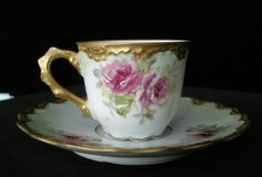 Gorgeous Limoges cup