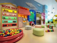 Kids Playroom Design Ideas and techniques used in bedroom and playroom design are the primary tools used to create kids' playroom. These kinds of playroom work on design of the entire playroom, whether it is small or large. The design… Continue Reading → Daycare Design, Playroom Design, Playroom Decor, Kids Decor, Playroom Ideas, Basement Daycare Ideas, Home Daycare Rooms, Garage Playroom, Daycare Spaces