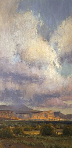 Light Show by Kim Casebeer Oil ~ 24 x 12