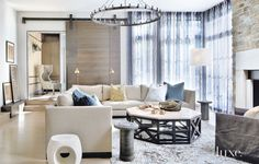 Contemporary Home with Bold Eclectic Furnishings | LuxeSource | Luxe Magazine - The Luxury Home Redefined