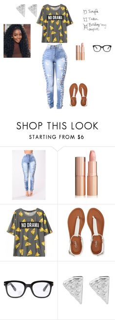 """# No Drama"" by queenraina1 on Polyvore featuring Aéropostale, Forever 21 and Rock 'N Rose"