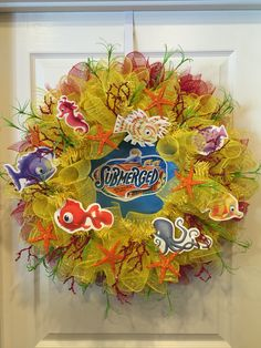 Submerged Wreath made for  FBC Sevierville, TN