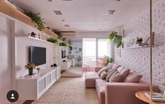 Here are some doable living room decor and interior design tips that will make your home cozy and comfortable for family and friends. Condo Living, Home Living Room, Living Room Decor, Condo Interior, Interior Design, Deco Pastel, Decoration Bedroom, Wall Decor, Home And Deco